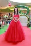 Sfilata di moda dei vestiti da sposa Immagine Stock