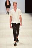 Sfilata di moda di Ahmad Taufik Immagini Stock Libere da Diritti