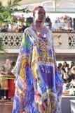 Sfilata di moda di Camilla Fotografie Stock
