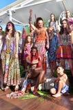 Sfilata di moda di Camilla Fotografia Stock