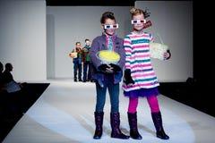 Sfilata di moda di FIMI Fotografia Stock