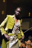 Sfilata di moda elegante tribale Immagini Stock Libere da Diritti