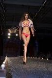 Sfilata di moda a Varsavia immagine stock
