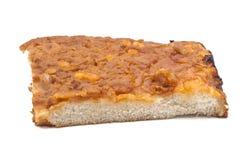 Sfincione, παραδοσιακή σισιλιάνα πίτσα Στοκ Φωτογραφία