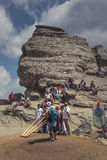 Sfinks, Bucegi góry, Rumunia Obraz Stock