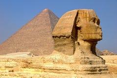 sfinks egiptu Fotografia Royalty Free