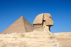 SFINKS GIZA W EGIPT Zdjęcie Royalty Free