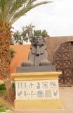 Sfinks statuy mała kopia Obrazy Stock