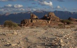 Sfinks-stenen Stock Afbeelding