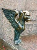 Sfinksa drzemanie nad krnąbrny Neva obraz royalty free