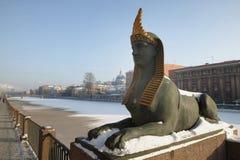 Sfinx. royalty-vrije stock afbeeldingen