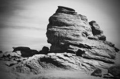 Sfinx av Bucegi berg Arkivfoton