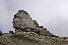 Sfinx av Bucegi berg Arkivbilder