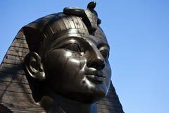 Sfinx bij de Naald van Cleopatra in Londen Royalty-vrije Stock Foto's