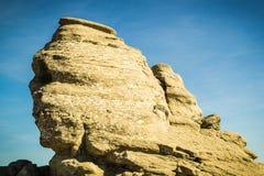 Sfinx Bucegi berg Fotografering för Bildbyråer