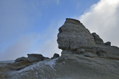 Sfinx, Bucegi mountains sphinx Royalty Free Stock Images
