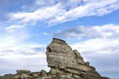 Sfinx, Busteni, Rumänien lizenzfreies stockfoto