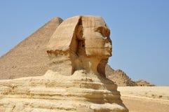 Sfinx Egypte Stock Afbeelding