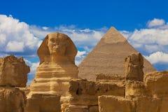 Sfinx Egypte Stock Afbeeldingen