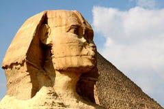 Sfinx Egypten Arkivfoto