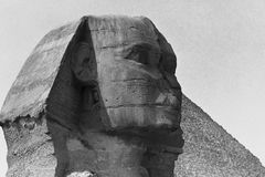 Sfinx Egypten, Oktober, 2002 arkivbild