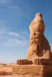 Sfinx för wadiEL Seboua royaltyfria foton