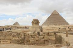 Sfinx, Kaïro Egypte Stock Afbeelding