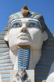 Sfinx in Luxor Stock Afbeelding