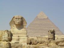 Sfinx på Giza Arkivfoto