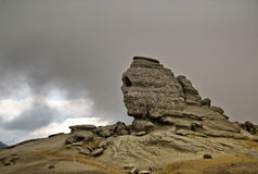 Sfinx van Bucegi Stock Foto's