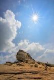 Sfinx van Caraiman Stock Foto's