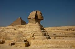 Sfinx van Giza Stock Foto
