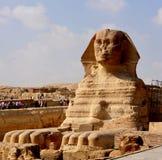 Sfinx van Giza Royalty-vrije Stock Afbeeldingen