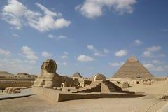 Sfinxcaro Egypte Stock Afbeelding