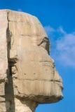Sfinxen i Kairo royaltyfria foton