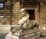 Sfinxstaty arkivfoton