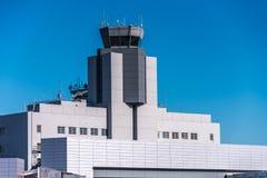 SFO, tour de contrôle d'aéroport de San Francisco International Photo stock