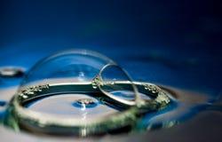 Sfoggio del sapone Fotografia Stock
