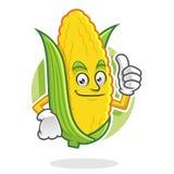 Sfogli sulla mascotte del cereale, il carattere del cereale, fumetto del cereale Fotografie Stock Libere da Diritti