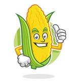 Sfogli sulla mascotte del cereale, il carattere del cereale, fumetto del cereale Fotografia Stock Libera da Diritti