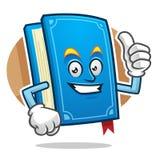 Sfogli sulla mascotte del libro, il carattere del libro, fumetto del libro Fotografia Stock