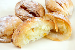 Sfogliatelle mini Royalty Free Stock Photos