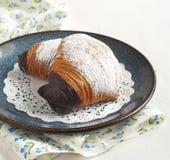Sfogliatelle, pasticceria a forma di guscio Fotografia Stock