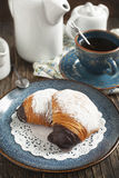 Sfogliatelle, Shell shaped Pastry Royalty Free Stock Image