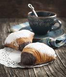 Sfogliatelle, Shell shaped Pastry Stock Photos
