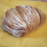 Sfogliatelle, traditioneel Napolitaans dessert stock foto's
