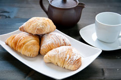 Sfogliatelle a typical Neapolitan cake italy Stock Images