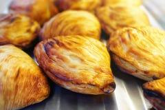 Sfogliatelle typical Neapolitan pastry. Royalty Free Stock Photos