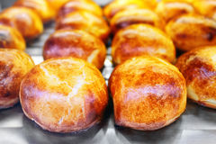 Sfogliatelle, typical Neapolitan pastry. Royalty Free Stock Photos