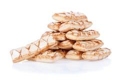 Sfogliatine, итальянское печенье слойки Стоковая Фотография